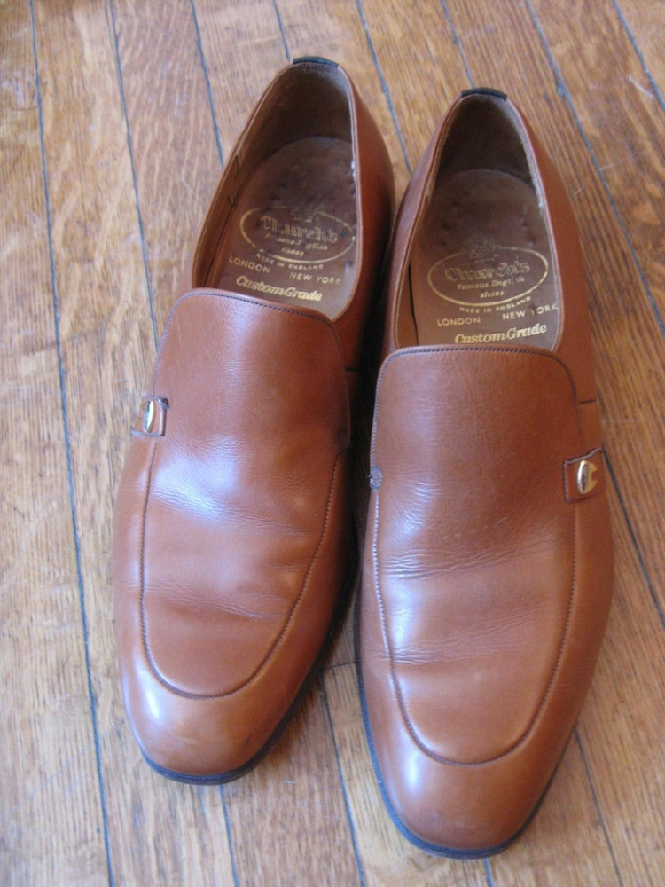 Caramel Leather Monks by Church's