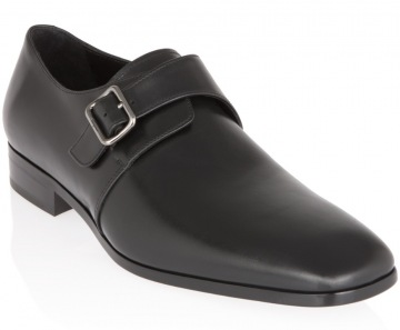 Black Calf Skin Monks by Ferragamo