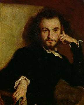 Charles Baudelaire by Emile Deroy, 1844