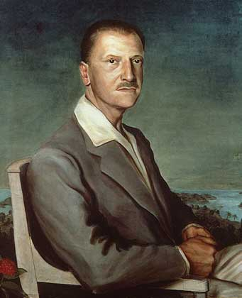 W. Somerset Maugham Portrait by Philip Steegman, 1931