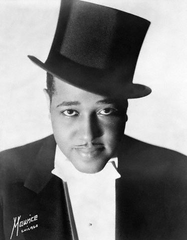 Portrait of Duke Ellington in Top Hat and White Tie