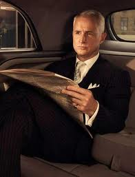 Roger Sterling in French Cuff