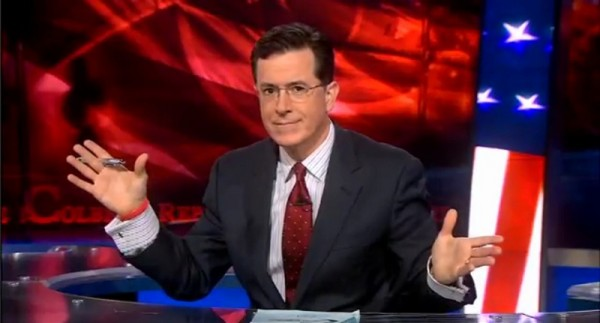 Stephen Colbert in French Cuff, Colbert Report April 13, 2011