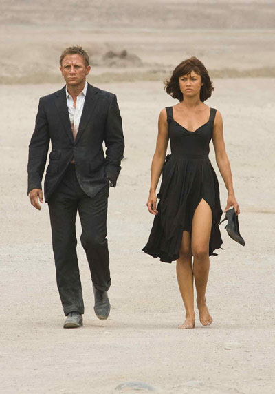 James Bond, Church's Shoes and a Gorgeous Lady