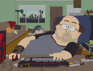 Computer Nerd Wearing a T-shirt (South Park)