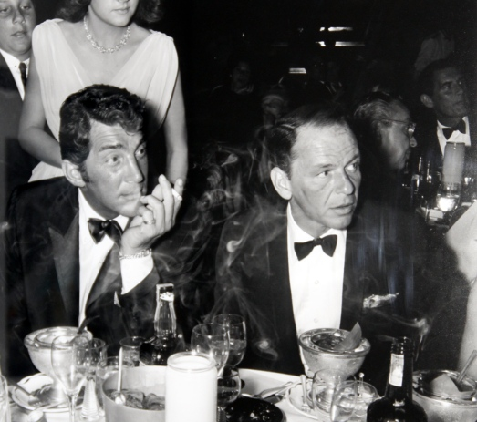 Dean Martin and Frank Sinatra in Bow Ties and Delicate Mayhem