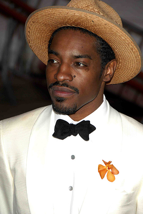 Andre Benjamin Demonstrates the Formal Cool of the Bow TIe