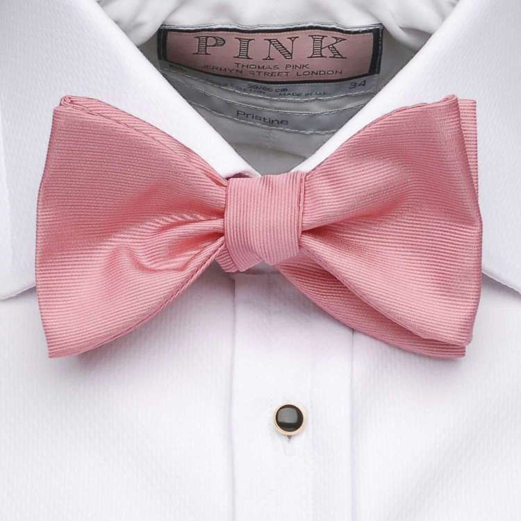 The Pink Bow Tie from Thomas Pink