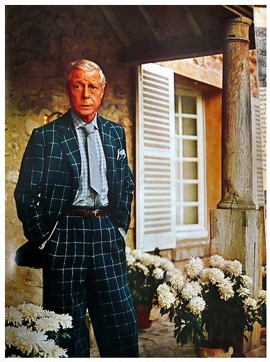 Edward VIII Sporting the Four-In-Hand with a Thick Necktie