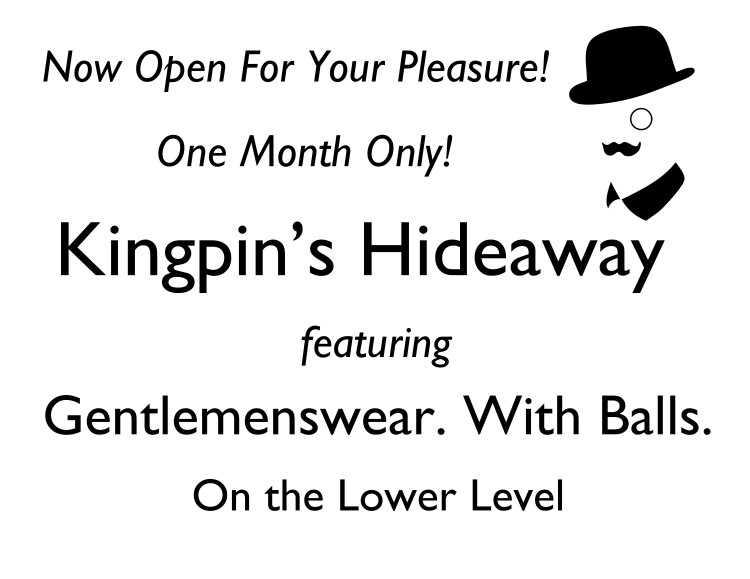 Kingpins Hideaway Grand Opening Soiree