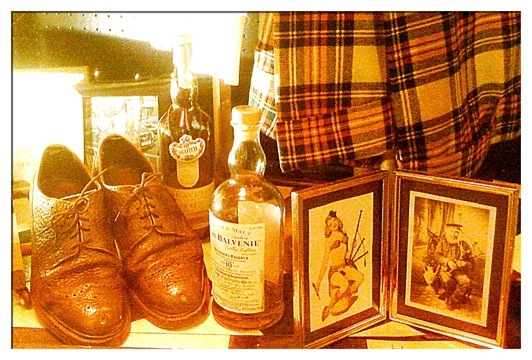Brogues, Scotch Whiskey, Kilts and Sexy Pipers - A perfect Robbie Burns Supper!