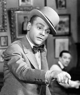 James Cagney in Bow Tie and Bowler Hat