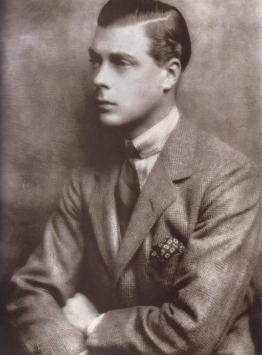 Edward VIII Sporting a Silk Pocket Square