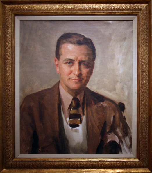 American Dandy, Author and Poster Boy for the Lost Generation - F. Scott Fitzgerald