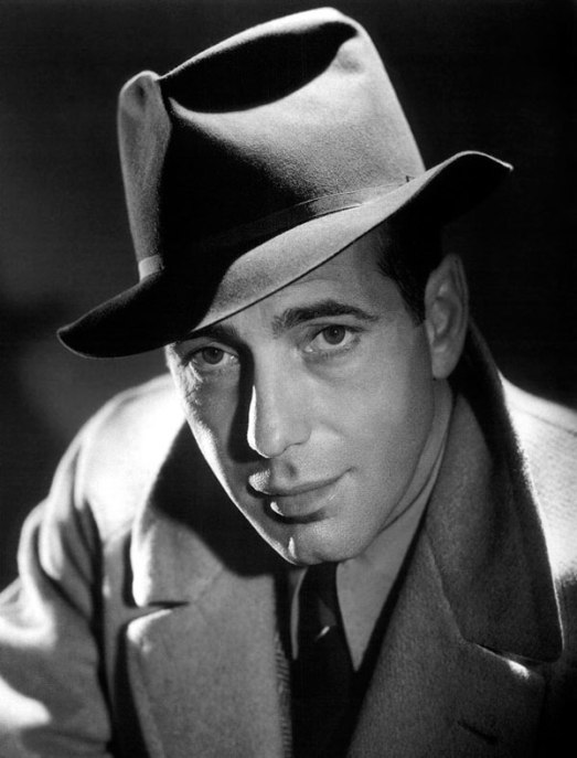 Humphrey Bogart wearing a Royal Stetson Fedora