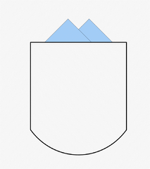 Diagram of a Patch Pocket