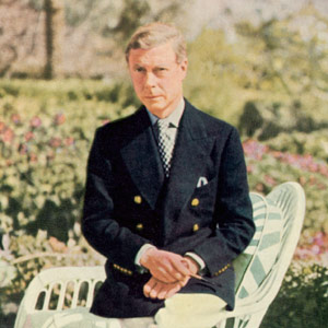 Edward VIII in a Reefer Jacket
